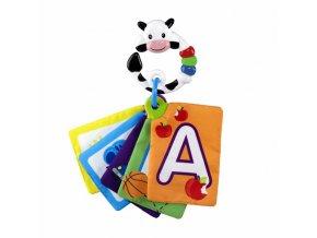 Karty zábavně-vzdělávací Take Along Discovery Cards písmená 0m+