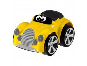 Hračka autíčko Turbo Team Henry - žluté