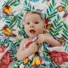 Tommy Lise Bambusová mušelínová plena (120x120) Bloming Day