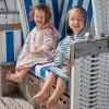 Lässig pončo Beach Poncho Girls