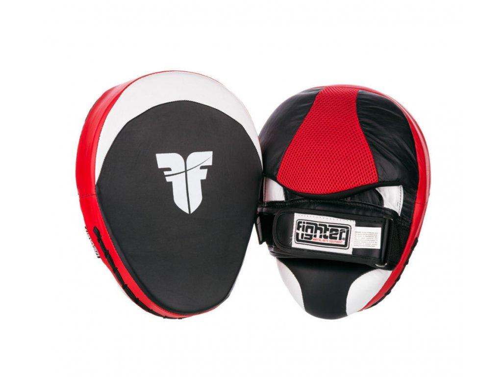 FIGHTER černá-červená-bílá