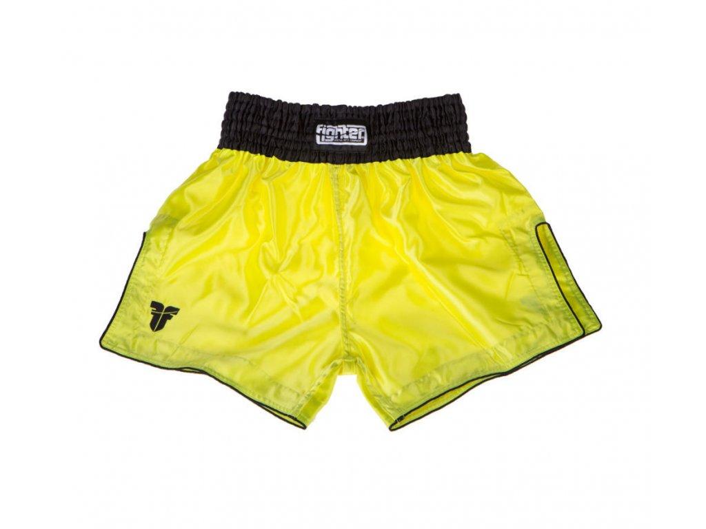 FIGHTER BANGKOK neon žlutá