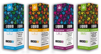 Seznamte se s liquidy s CBD