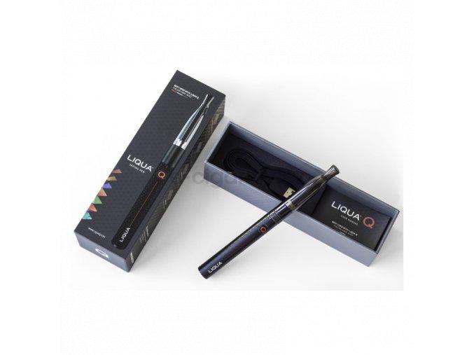 Elektronická cigareta Liqua Q černá