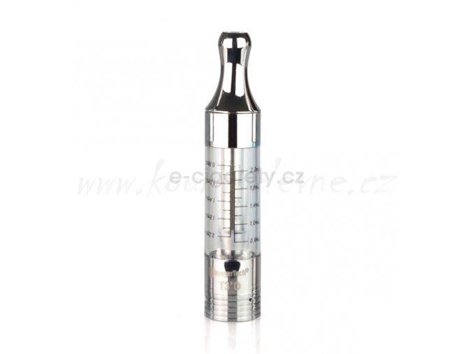 Clearomizér T3D Dual Coil čirý 2,2ml