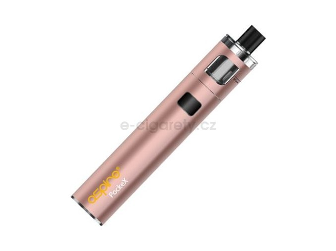 aSpire PockeX AIO elektronická cigareta 1500mAh Růžová