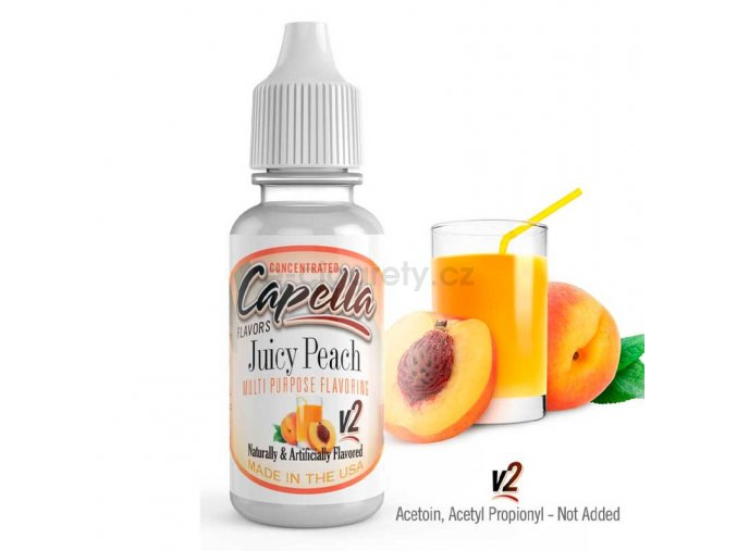 juicy peach v2 13ml
