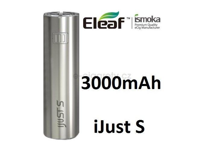Eleaf iJust Baterie S 3000mAh stříbrná