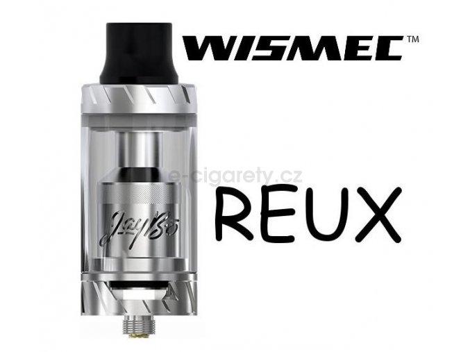 WISMEC Reux Atomizer 6ml stříbrný