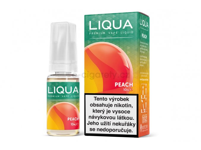 Liqua Broskev Peach