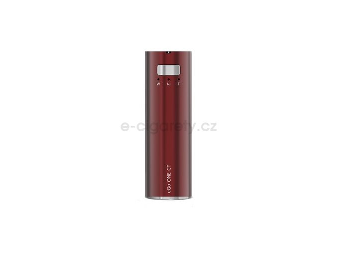 Joyetech eGo ONE CT baterie 2200mAh Cherry Red