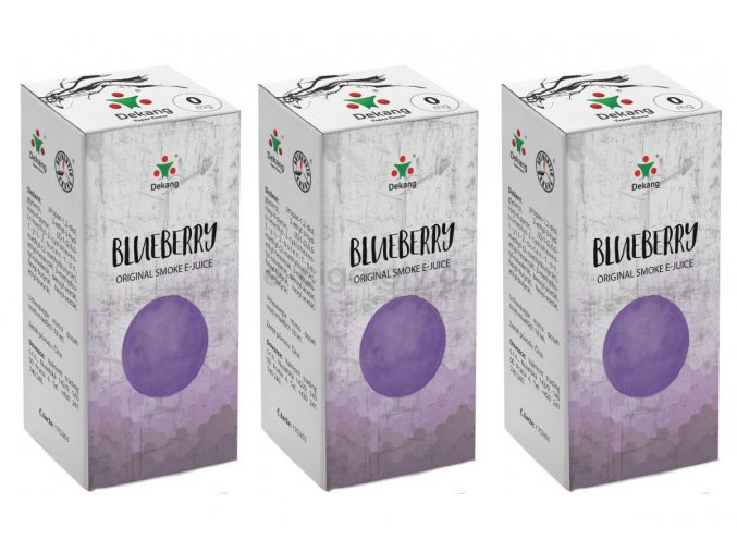 DekangEU liquid Boruvka 30ml 0mg