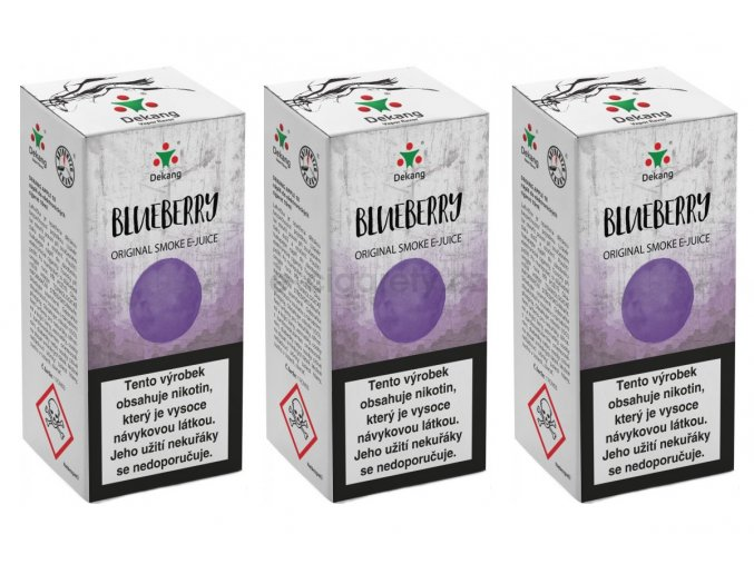 DekangEU liquid Boruvka 30ml 12mg