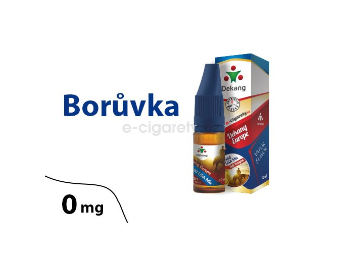 DekangEU liquid Boruvka 10ml 0mg