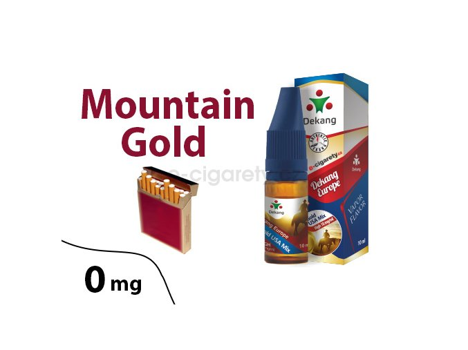 DekangEU liquid MountainGold 10ml 0mg