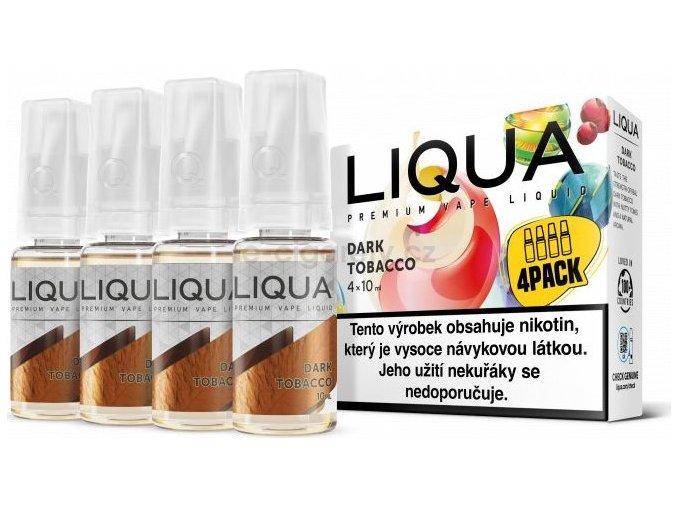 Liquid LIQUA CZ Elements 4Pack Dark tobacco 4x10ml-6mg (Silný tabák)
