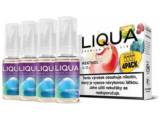 Liquid LIQUA CZ Elements 4Pack Menthol 4x10ml-6mg (Mentol)