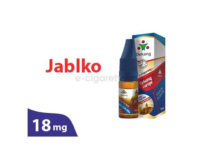 DekangEU liquid Jablko 10ml 18mg