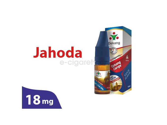 DekangEU liquid jahoda 10ml 18mg
