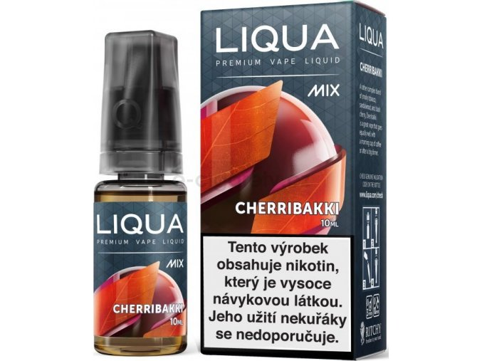 Liquid LIQUA CZ MIX Cherribakki 10ml-18mg