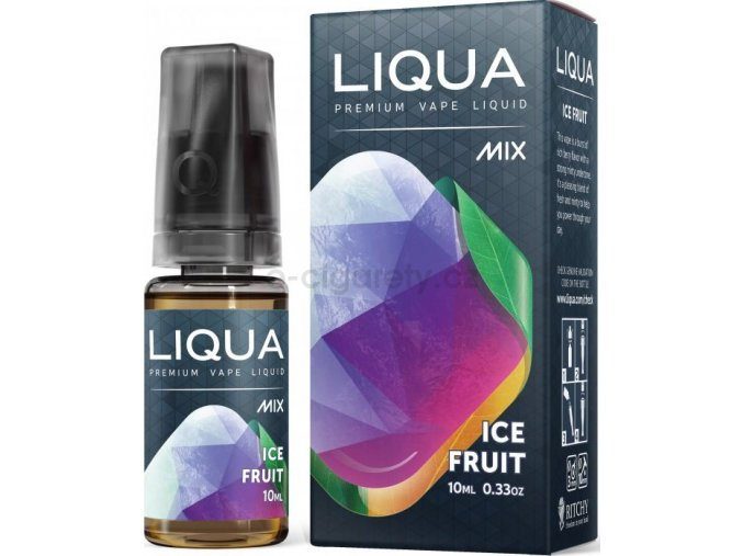 Liquid LIQUA CZ MIX Ice Fruit 10ml-0mg