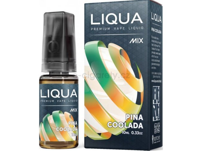 Liquid LIQUA CZ MIX Pina Coolada 10ml-0mg