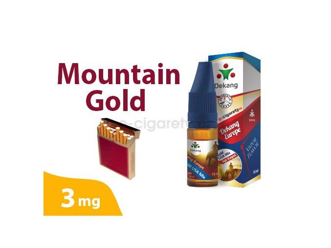 DekangEU liquid MountainGold 10ml 3mg