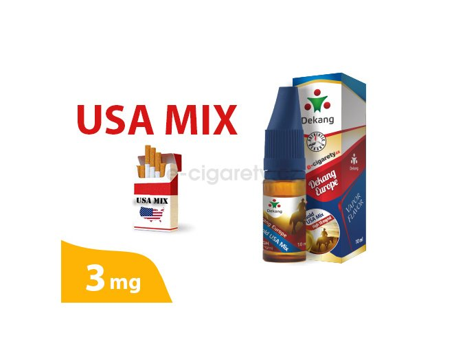 DekangEU liquid USA Mix 10ml 3mg