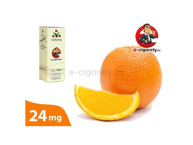 E-liquid Dekang Pomeranč (Orange) - 10ml, 24mg