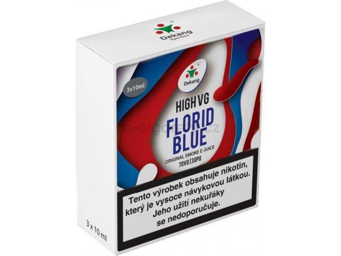 Liquid Dekang High VG 3Pack Florid Blue 3x10ml - 3mg