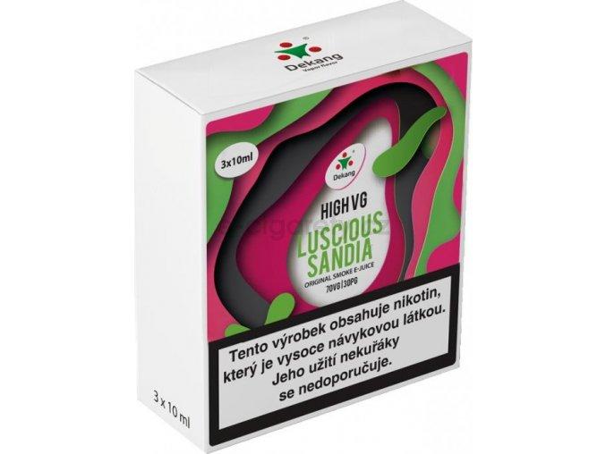 Liquid Dekang High VG 3Pack Luscious Sandia 3x10ml - 3mg