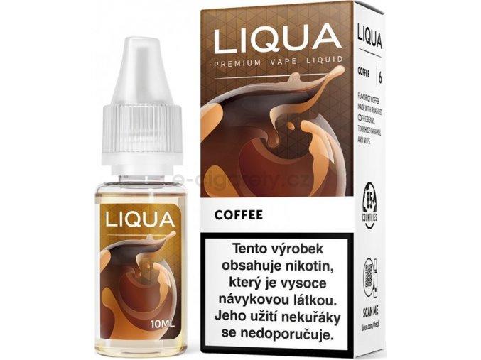Liquid LIQUA CZ Elements Coffee 10ml-12mg (Káva)