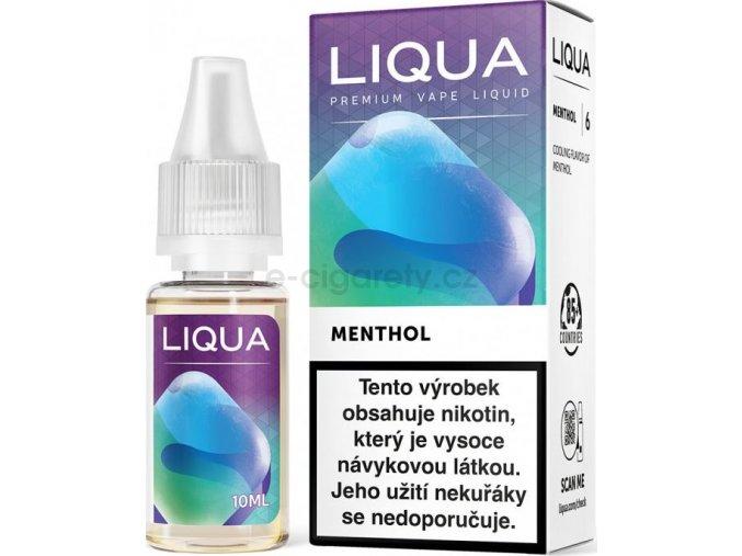 Liquid LIQUA CZ Elements Menthol 10ml-3mg (Mentol)