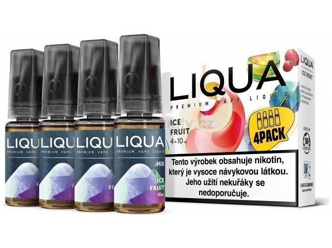 Liquid LIQUA CZ MIX 4Pack Ice Fruit 10ml-6mg