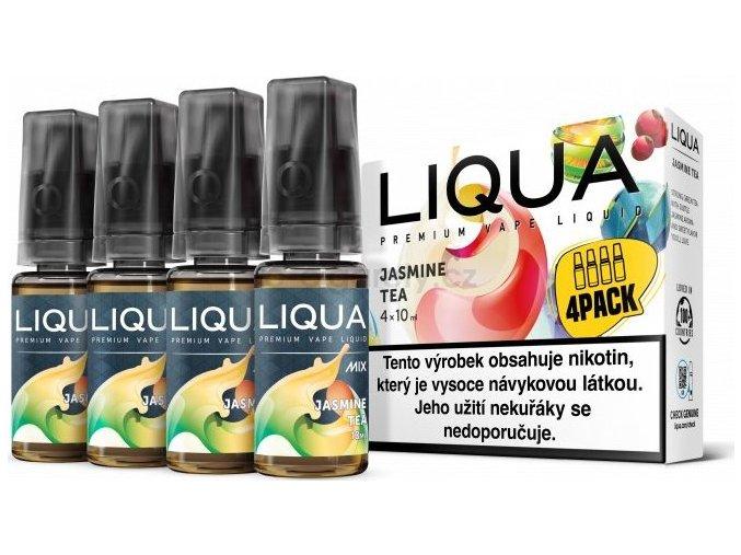 Liquid LIQUA CZ MIX 4Pack Jasmine Tea 10ml-3mg