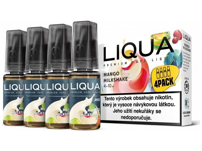 Liquid LIQUA CZ MIX 4Pack Mango Milkshake 10ml-3mg