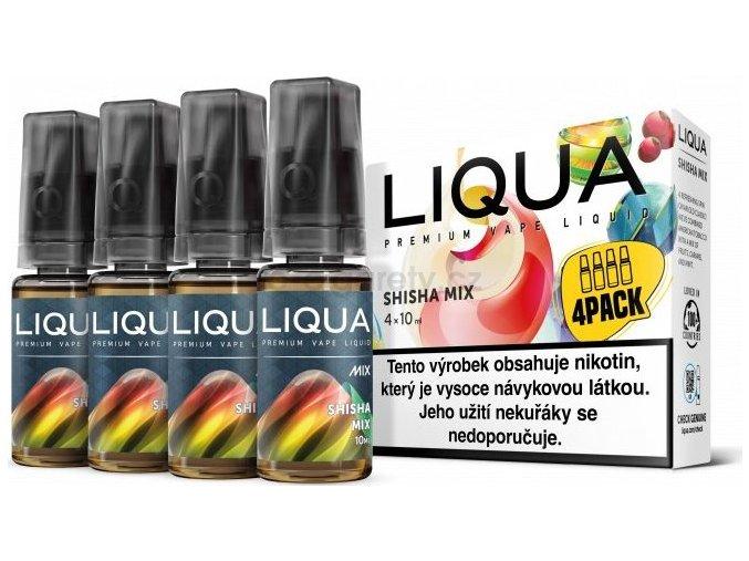 Liquid LIQUA CZ MIX 4Pack Shisha Mix 10ml-3mg