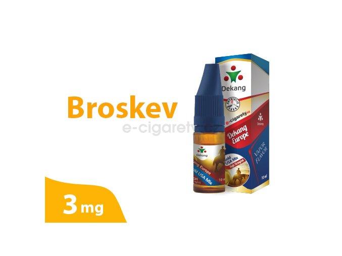 DekangEU liquid Broskev 10ml 3mg