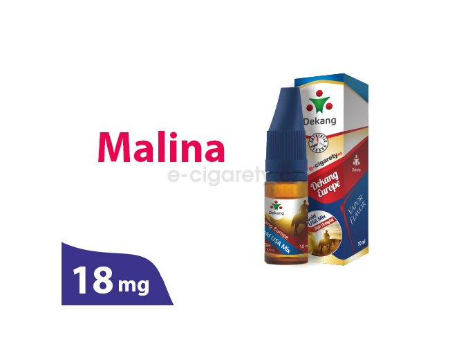 DekangEU liquid Malina 10ml 18mg