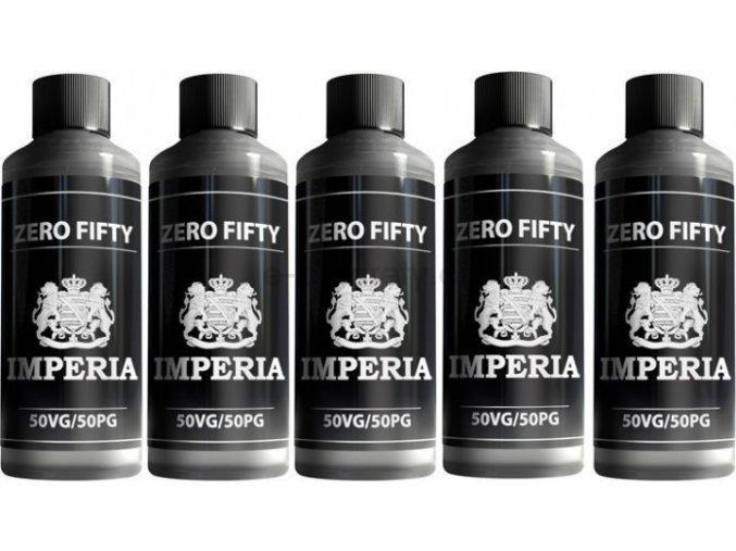 Chemická směs IMPERIA FIFTY 5x1000ml PG50/VG50 0mg
