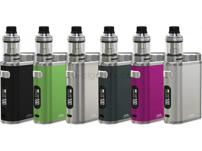 iSmoka-Eleaf iStick Pico 21700 Full Kit 4000mAh Brushed Silver