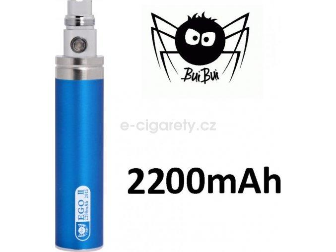 BuiBui GS eGo II baterie 2200mAh Modrá