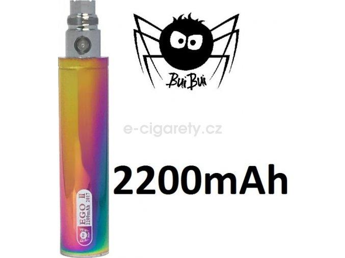 BuiBui GS eGo II baterie 2200mAh Duhová