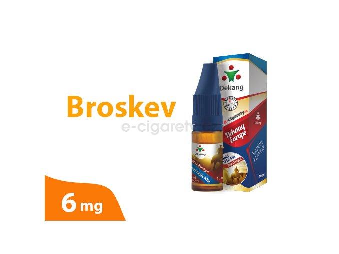 DekangEU liquid Broskev 10ml 6mg