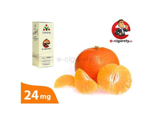 E-liquid Dekang Mandarinka (Mandarin) - 10ml, 24mg