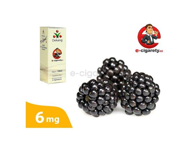 E-liquid Dekang Ostružina (Blackberry) - 10ml, 6mg