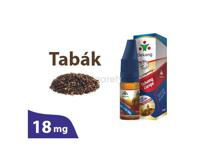 DekangEU liquid tabák 10ml 18mg