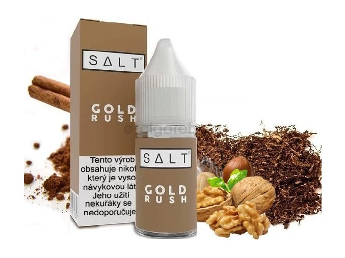 Liquid Juice Sauz SALT CZ Gold Rush 10ml - 20mg