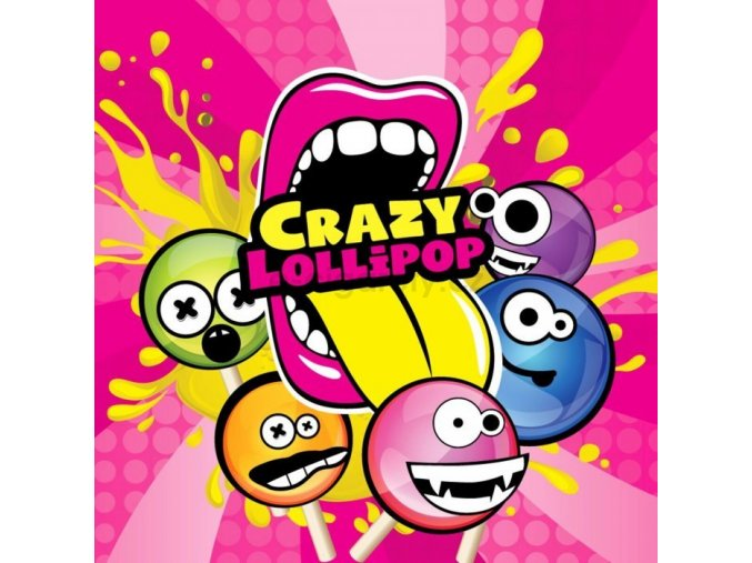 Příchuť Big Mouth Classical - Crazy Lollipops 10ML