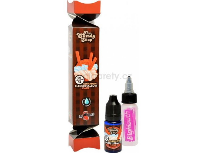 Příchuť Big Mouth CANDY - Cinnamon Marshmallow Cake 10ML